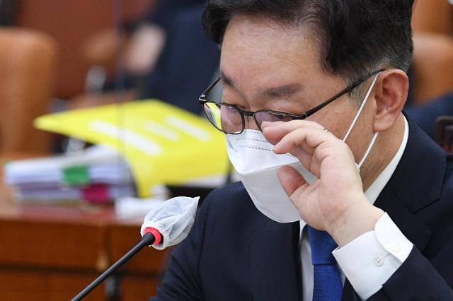 """박범계 """"정치검찰 규범적 통제 해 나가겠다"""""""