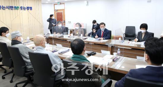 """박승원 시장 """"코로나19 확산 방지위해 종교계 적극 힘 모아달라"""""""