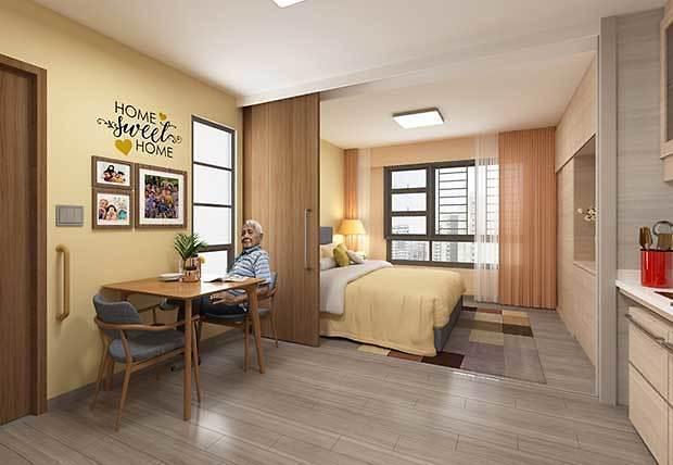 [NNA] 싱가포르에 첫 고령자 전용 공영주택