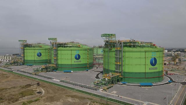 금호산업, 인천 LNG 생산기지 저장탱크 20만㎘급 3기 준공