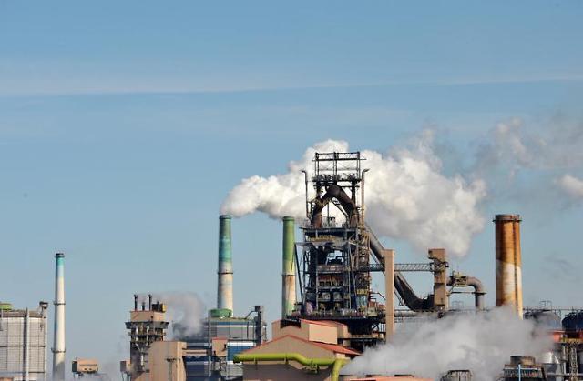 去年韩国工业生产同比减0.8% 有统计来首次录得负值