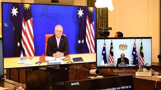 [NNA] 말레이시아-호주 정상회담... 관계강화 합의