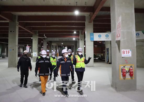 군포소방, 대형 공사장 화재예방 안전컨설팅 펼쳐