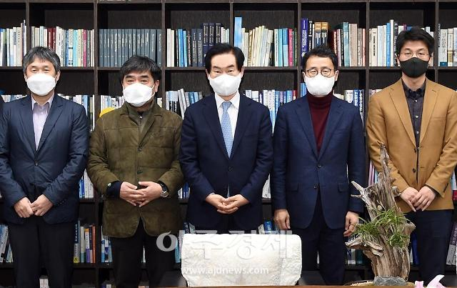 안병용 의정부시장, 한국기원 유치·바둑경기장 건립 논의