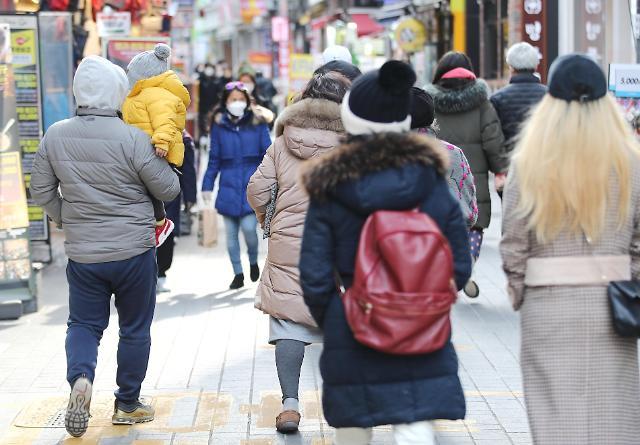 """""""人口悬崖""""越来越近 韩国去年近6成地区出现人口负增长"""