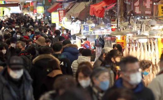 节前街市热闹非凡