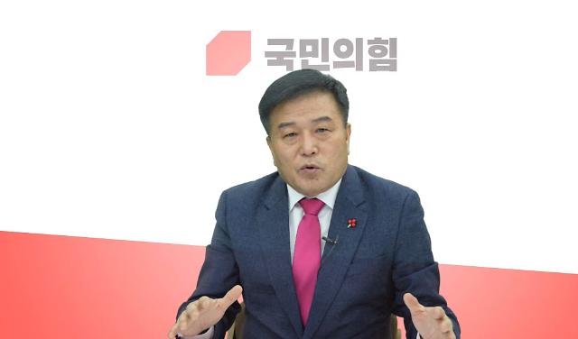 """[아주-인터뷰]국민의힘 이진복 부산시장 예비후보, """"가덕도 발언 환영, 한일 해저터널은 신중히 접근해야"""""""