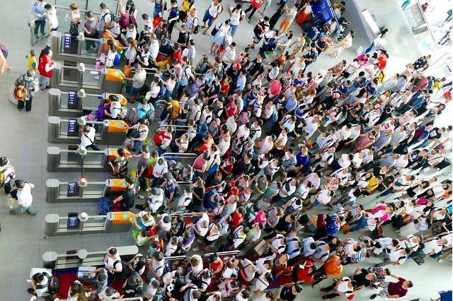 [NNA] 中 춘윈 개시 3일간, 철도 이용 70% 감소