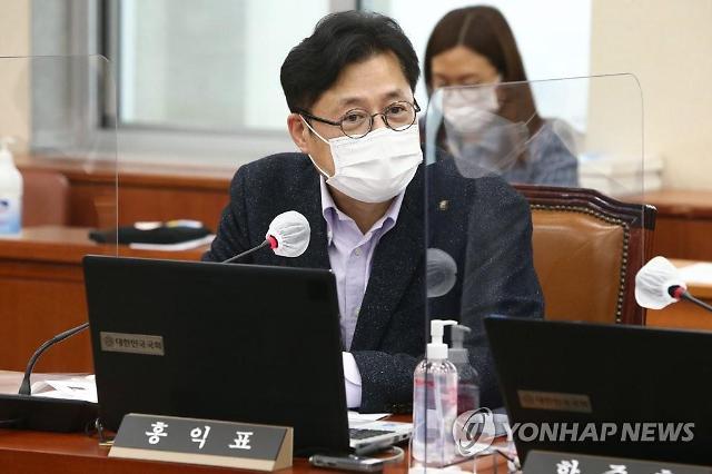 """홍익표 """"한·일 해저터널, 일본 위한 정책...김종인이 이적행위"""""""