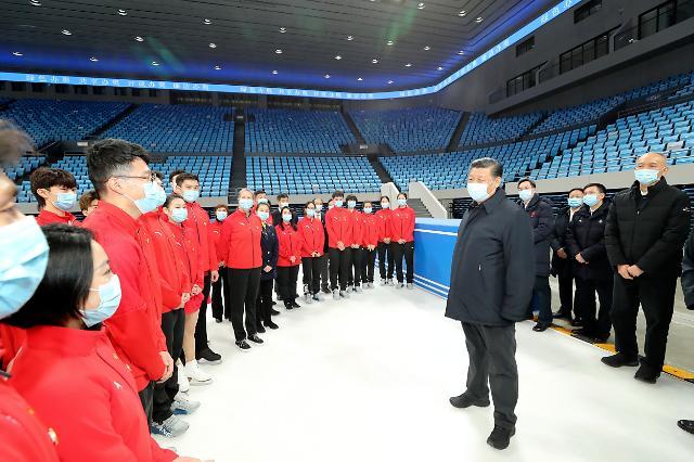"""베이징 동계올림픽 개최까지 1년…中 """"반드시 성공 개최한다"""""""