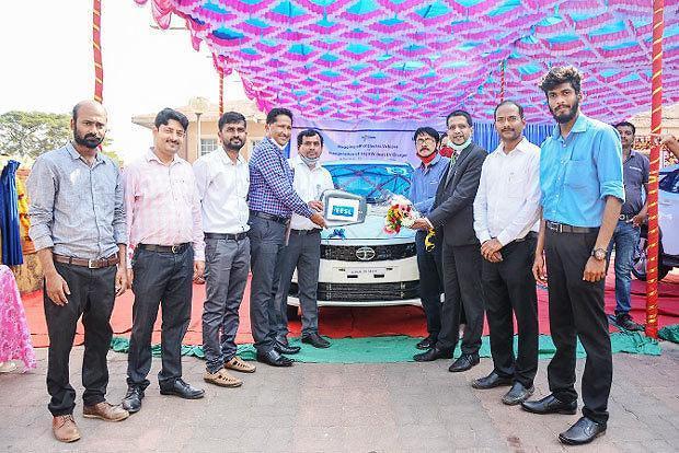 [NNA] 印 타타車, 고아주 정부에 티고르EV 공급