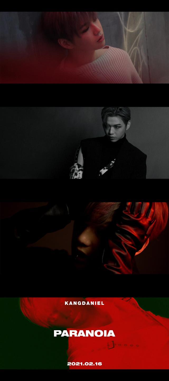 강다니엘 컴백 타이틀 공개…PARANOIA 작사 참여