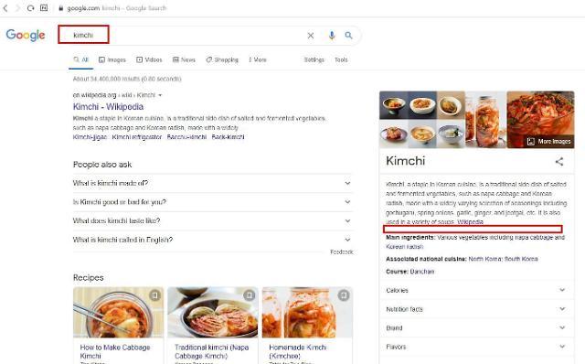 韩民间组织抗议谷歌错标泡菜起源历史