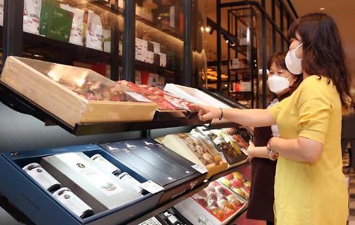 又是一年春节到 韩百货店礼盒销售火爆