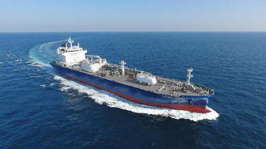 韩国船企订单量连续4个月领跑全球