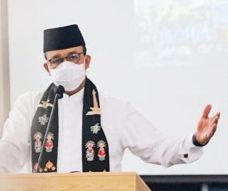 [NNA] 印尼 자카르타 주지사, 주말 외출제한설 부정