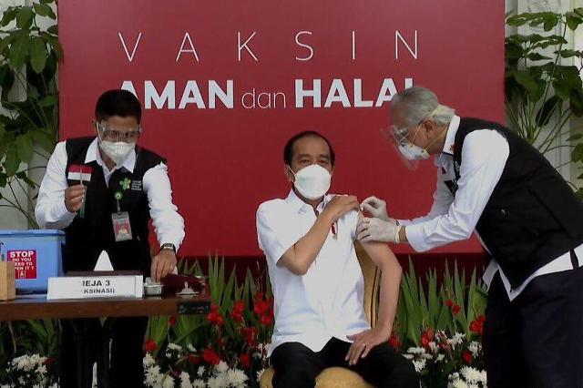 [NNA] 印尼 당국, 中 시노백 백신 고령자에 접종 허가