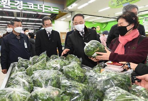副总理洪楠基视察节日供应和物价情况