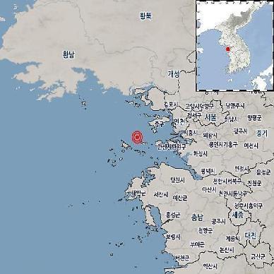 [속보] 인천 옹진 앞바다 규모 2.1 지진