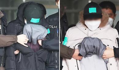 """'조카 물고문' 이모 부부 구속…심경 묻자 """"미안해요"""""""