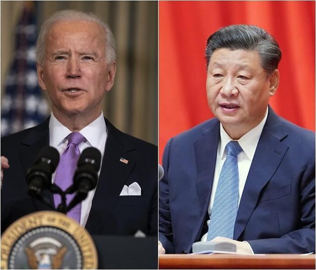 바이든, 시진핑 주석과 취임 후 첫 통화…신장 등 인권문제 거론