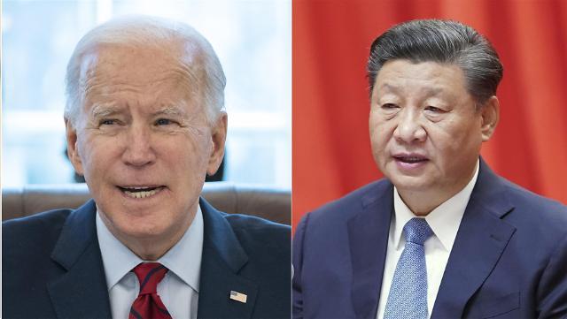 中国国家主席习近平同美国总统拜登通电话