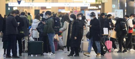 春节小长假第一天 疫情下的韩国新年