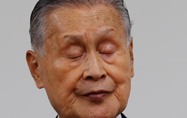 성차별 발언 악재까지…도쿄 올림픽 위원장 사퇴 망신