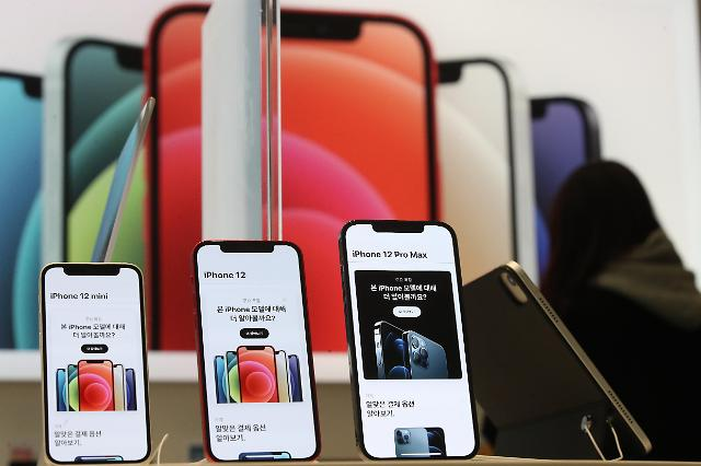 iPhone12在韩销售火热 上市三个月销量或突破120万部