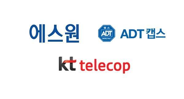 에스원·ADT캡스 보안 양강체제…KT텔레캅 플랫폼보안 통할까