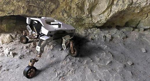 [NNA] 현대車, 보행가능한 사륜구동 로봇 타이거 공개