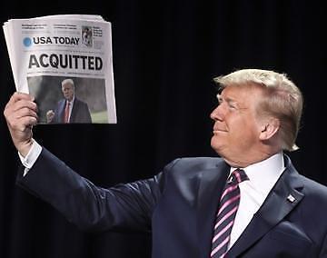 Cựu Tổng thống Trump lại được tuyên bố trắng án trong cuộc luận tội lần 2