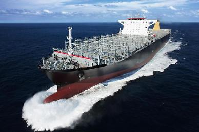 Samsung shipyard wins $707 mln order to build five LNG-powered container ships