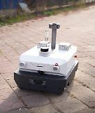 .    5G-connected autonomous robots to monitor air quality at old industrial complex in Jeonju.