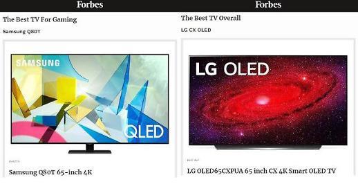 三星LG产品获选《福布斯》今年最佳电视机