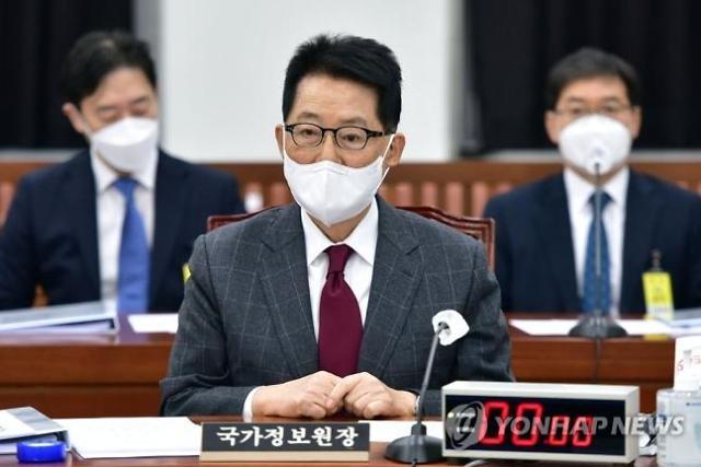 """박지원 """"정보위 의결하면 사찰 의혹 비공개 보고 검토"""""""