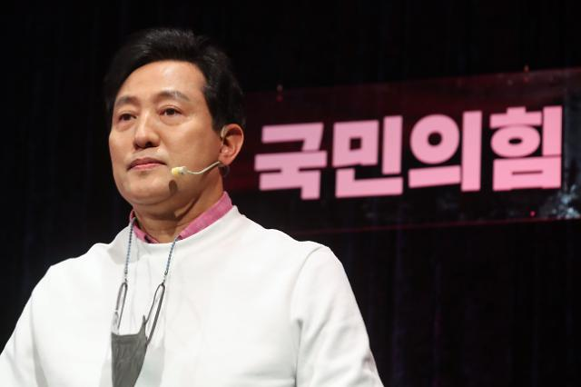 """오세훈 """"박영선, 정책 비판에 인신공격…또 무상급식 프레임 씌우나"""""""