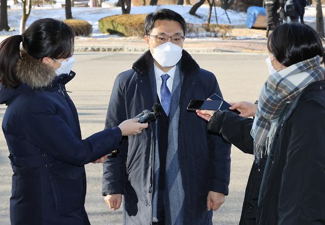 """김진욱 공수처장 """"야당 인사위원 추천 기한 28일까지 연장"""""""