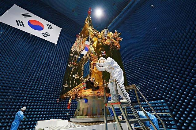"""韩环境卫星""""千里眼2B""""下月起提供民用服务"""