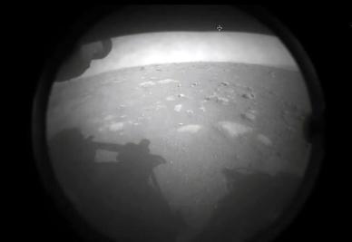 [포토] 미 화성 탐사선, 화성 착륙 성공