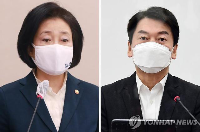 박영선 39.3% vs 안철수 39.4%...서울시장 가상 맞대결 초접전