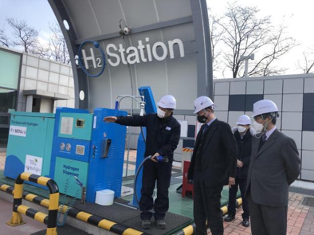 임해종 가스안전公 사장, 국내 유일 상업용 온사이트 수소충전소 직접 챙긴다