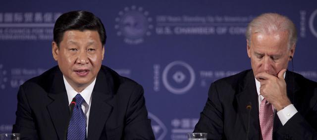 """""""미국 떠난 자리, 중국이 꿰찼다""""...美바이든, 유럽 동맹 규합에 난항"""