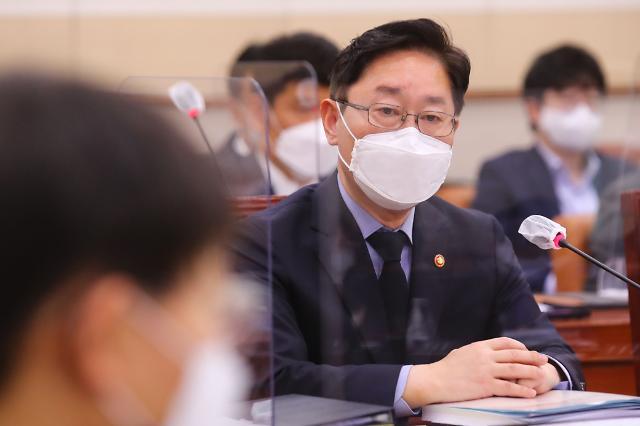 """박범계 """"나는 대통령 법무참모…신현수 패싱 논란은 언론플레이"""""""