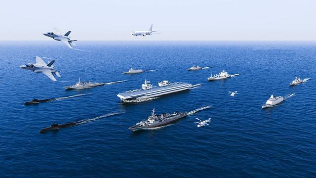 해군 경항모에 2조300억 투입…2033년 실전배치 의결