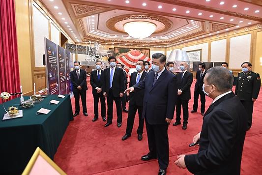 """中시진핑 """"인류의 우주공간 평화적 이용에 기여"""" 강조"""