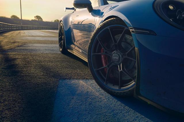 미쉐린 타이어, 신형 포르쉐 911 GT3와 함께 달린다