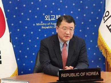 최종건 외교부 차관, 유엔 군축회의서 北 대화테이블에 복귀하라