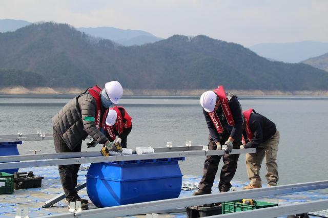 한화큐셀, 지난해 이어 수상태양광 발전소 연이어 수주 성공
