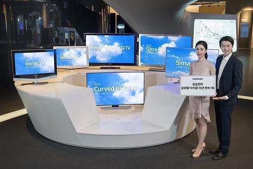 三星蝉联全球电视销量冠军 LG OLED出货量首破200万